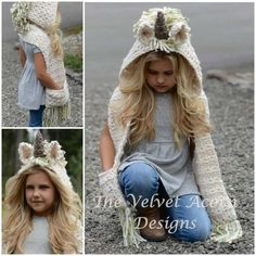 Girls' Accessories Kids Girls Unicorn Pink Hat Winter Knitted Hooded Scarf Gloves Earflap Cap 2-12y Delicious In Taste