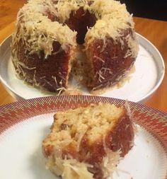 Receita muito saud�vel de bolo de coco para servir gelado, que fica super cremoso!        Ingredien...