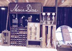 M A I E D A E: Indie Craft Parade: Our Booth!