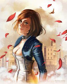 Bioshock Infinite - Elizabeth by mSppice.deviantart.com on @DeviantArt