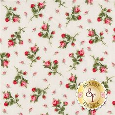 Faye Burgos Tossed Flowers Marcus fabric | American Bouquet 5207-0111 By Faye Burgos For Marcus Fabrics: American ...