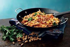 Pad Thai Bulgogi, Cooking Recipes, Healthy Recipes, Healthy Food, Tex Mex, Paella, Deli, Poultry, Curry