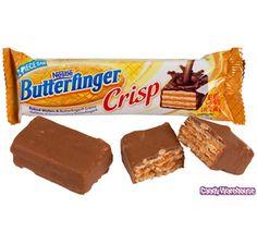 Butterfinger Crisp Candy Bars: 24-Piece Box | CandyWarehouse.com Online Candy Store