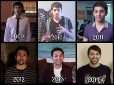 Evolution of Mitchell Coby Grassi, our Queen!! He is so amazing!! People don't realize how hard it is and how much practice it takes to hit those notes. This man is a LEGEND.