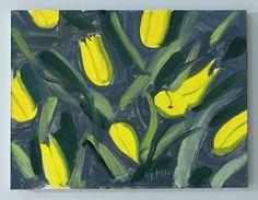 "Alex Katz ""Tulips"" 2013"
