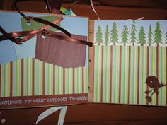 GIRL SCOUTS Mini Premade Paperbag Scrapbook Album by HolyScrappin, $15.00