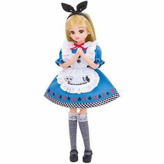 New Licca Doll Alice in Wonderland