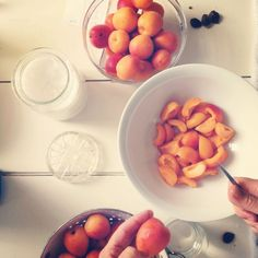 Our small batch apricot jam at The Cook's Atelier.   www.thecooksatelier.com