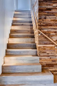 #stairs #wood #rustic #modern #contemporary - Arrigoni Woods