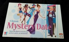 Classic Mystery Date Board Game Milton Bradley Complete 2005 (SOLD)