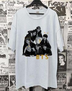 Kpop Shirts, Jimin, Bts, Cool Hoodies, Retro, Mens Tops, T Shirt, Color, Supreme T Shirt