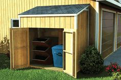 Shed for small yard
