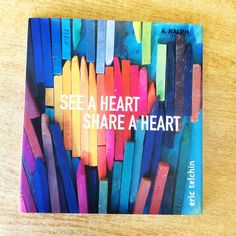 A lovely book about finding heart shapes in nature!