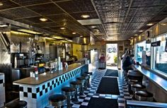 Great New Jersey Diner Pic! Best Diner, Pubs And Restaurants, Diners, New Jersey, Cars For Sale, Black And White, Memories, Travel, Vintage