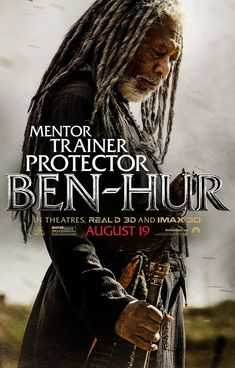 BEN-HUR movie poster No.4 (Ilderim/Morgan Freeman)