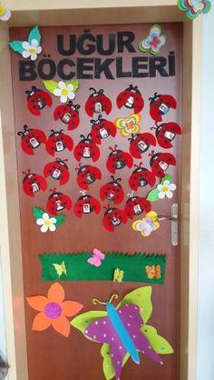 Kapı suslememiz Birthday Bulletin Boards, Foods With Calcium, Good Foods For Diabetics, Kinds Of Salad, Kindergarten Classroom, Ladybug, Stuff To Do, Alcoholic Drinks, Crafts For Kids