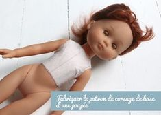 Patronage poupée : il est très facile de fabriquer un patron de base pour le corsage d'une poupée