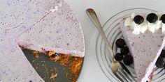 Blueberry No-Bake Cheesecake