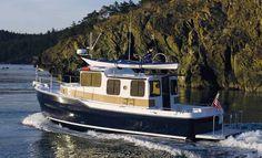 Trailerable retirement boat.