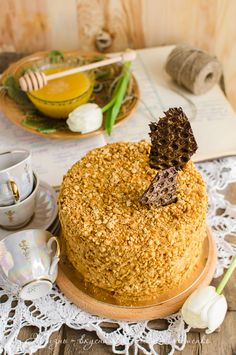 Медовик. Мамин и чуточку мой - Жизнь - вкусная! No Sugar Diet, Honey Cake, Sweet Pastries, Russian Recipes, Diet Menu, Meal Planning, Cake Recipes, Cake Decorating, Food Photography