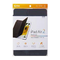 iPad Air 2ハードケース(スタンドタイプ・ブラック)の画像一覧 - サンワサプライ株式会社