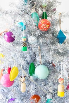 Colorful Christmas Decor from The Land of Nod