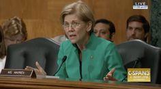 Elizabeth Warren Loses It with Steve Mnuchin Over His 'Orwellian Doublespeak' on Bank Reform   Alternet