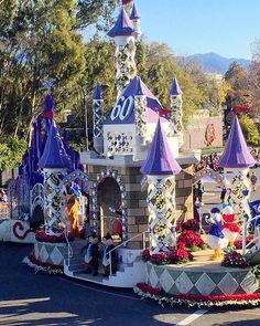 2016 Los Angeles Tournament of Roses Parade Disney float