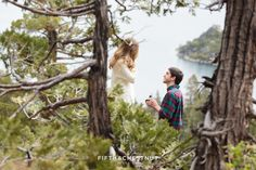 What she thought was just a quick stop at Lake Tahoe turned into the sweetest surprise marriage proposal. Proposal Photography, Proposal Photos, Best Proposals, Marriage Proposals, Perfect Proposal, Surprise Proposal, Lake Tahoe Weddings, The Perfect Getaway, South Lake Tahoe
