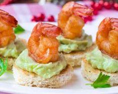 Toasts au guacamole léger et aux crevettes à moins de 200 calories…