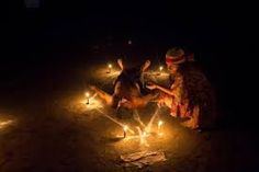 One long night every year in a mountainous rain forest in Venezuela, hundreds gather to dance on red-hot embers, enter trance-like states, and worship an ancient goddess known as Maria Lionza. Voodoo Rituals, Ancient Goddesses, African Traditions, Men Lie, Season Of The Witch, Voodoo Dolls, Image Of The Day, Worship, Religion