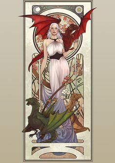 Daenerys Targaryen - Game of Thrones - Lucas Werneck
