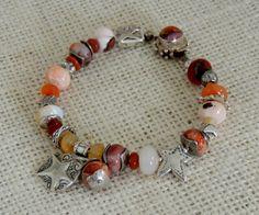 Artisan Silver Bracelet Opale mexicaine et par DianesAddiction, $175.00