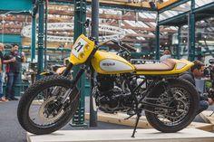 "Herald Motor Co. ""Baby Bayliss"" 250 - The Bike Shed London event. shot courtesy of MJ Studio ."