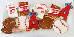 Baseball Party | Sugar cookies- make self - baseballs, gloves and bat- find cookie cutters
