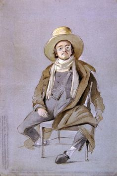 Henry Walter, Portrait of Samuel Palmer, 1849