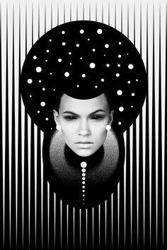 Dark Homonyms: Illustrations by Nikoloz Bionika | Inspiration Grid | Design Inspiration