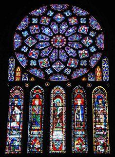 La catedral de Chartres.