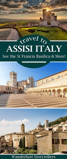 Click to read our ultimate guide about your Assisi Italy trip.  Travel to Assisi to see the famous St. Francis Basilica & more! >>>>>>>>>>>>>>>>>>>>>>>>>> St. Francis of Assisi   Assisi Basilica   Assisi Travel   Assisi Umbria   Francesco Assisi   Assisi