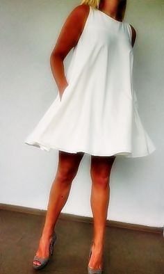 Piękna sukienka z koła na zamówienie Polecam!;-)