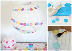 Lantern | 26 Cute And Novel Ways To Use Confetti