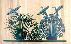 Flora & Fauna Amarna Period Egyptian paints. Nefertiti 2015  http://www.ornellagallodifortuna.com/nefertiti/