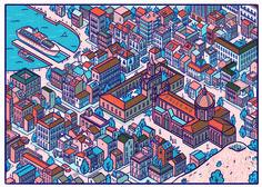 Palermo, Italy  Illustration by @Andres Lozano