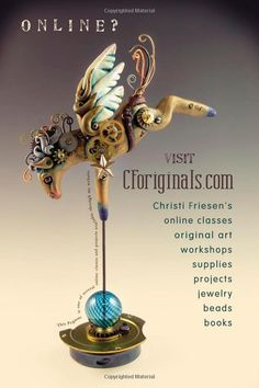 Steampunkery: Polymer Clay and Mixed Media Projects: Christi Friesen: 9780980231465: Amazon.com: Books