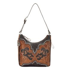 Western Handbag with Concealed Weapon Pocket, from the Annie's Secret Collection