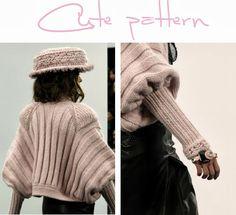 Три выкройки оригинальных свитеров