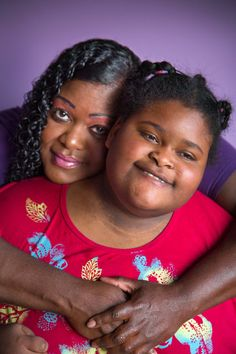 'Food Is a Death Sentence to These Kids' - NYTimes.com - By Kim Tingley, Jan 21, 2015. (Photo of Rachelle Ross-Williams, who has Prader-Willi syndrome, with her mother, Rhoda Ross-Williams. Credit Stephanie Sinclair for The New York Times) #praderwillisyndrome #PWS