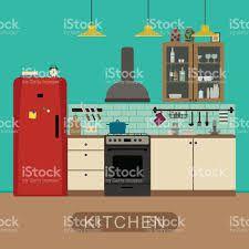 """Résultat de recherche d'images pour """"kitchen Flat art"""""""