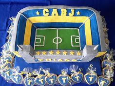 """Torta estadio de Boca Juniors """"Bombonera"""""""