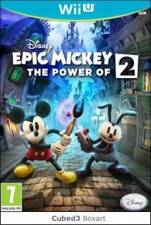 Boxart for Disney Epic Mickey 2: The Power of Two on Wii U
